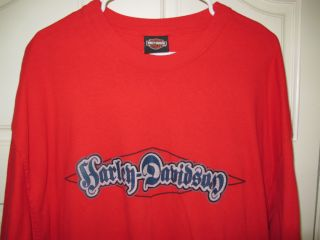 Mens Harley Davidson T Shirt Cape Girardeau MO XXL 861