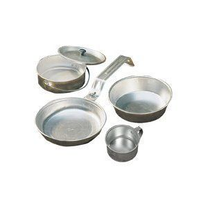 New Coleman Mess Kit Camping Cookware Portable Aluminum