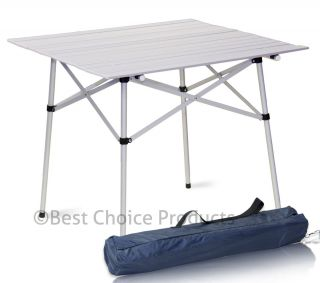 Roll Up Table Folding Camping Outdoor Indoor Picnic Table Heavy Duty