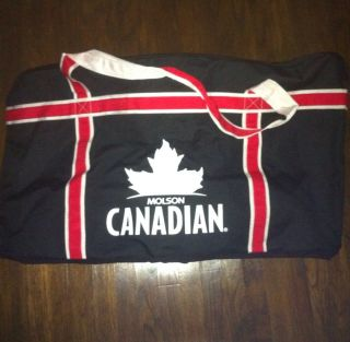 Hockey Equipment Bag with Molson Canadian Beer Logo