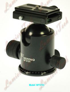 FT6665H Pro Camera Tripod Action Fluid Drag Ball Head