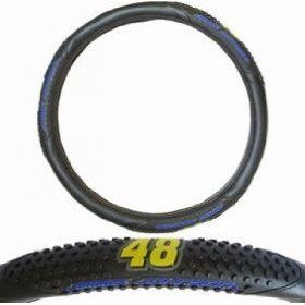 Jimmie Johnson Car Steering Wheel Cover NASCAR 48 New