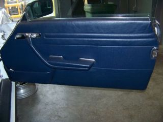Used Interior Passenger Door Panel Mercedes 560SL 1989
