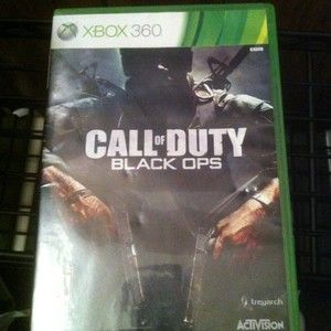 Call of Duty Black Ops Xbox 360 2010