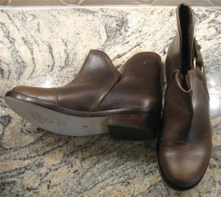 Calleen Cordero Moco Brown Mina Leather Ankle Boot 5 1 2 6 New $549
