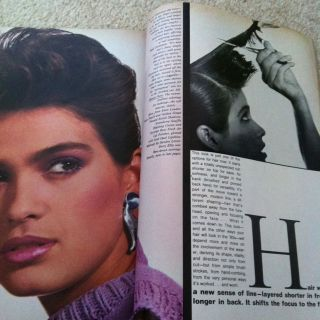 January 1980 Many Pages of Model GIA Carangi Fashion Beauty