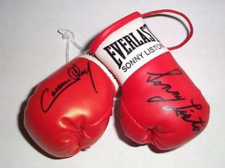 Cassius Clay V Autographed Mini Boxing Gloves