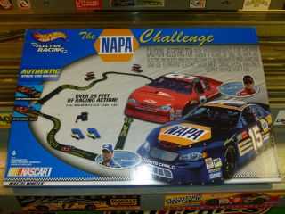 BRAND NEW HOT WHEELS SLOT CAR RACING SET THE NAPA CHALLENGE NEW NEVER