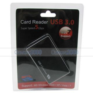USB 3 0 Multi Memory Card Reader SD SDHC SDXC TF Cards Reading with