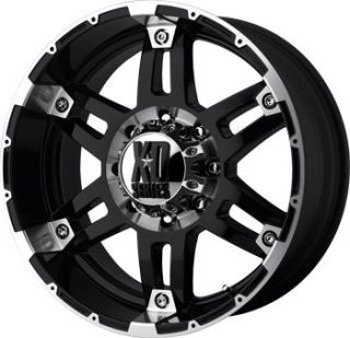 XD797 Spy Black 20x8 5 Offroad Truck Rims Wheels Nitto Tires
