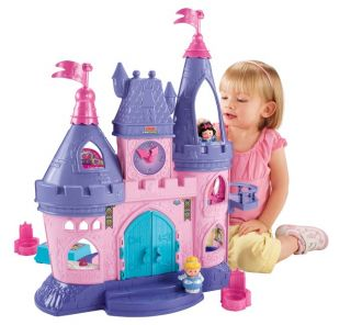 Fisher Price Little People Disney Princess Palace Toys