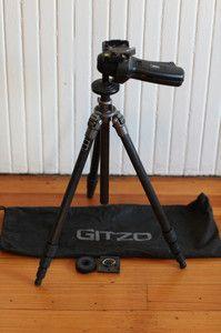 Gitzo GT0540 Carbon Fiber Tripod w Bogen Grip Action Ball