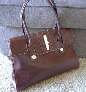 Women Michael Kors Leather Handbag Satchel Classic