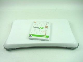 Nintendo Wii Fit Balance Board Game Disc Set Excercise Home Gym Cardio