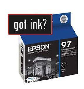 GENUINE epson Ink T0971 97 Black Extra High Capaciity NX510 NX515 600