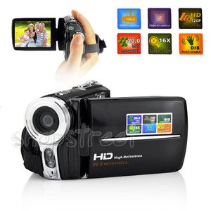 New 20MP 16x HD 720P Digital Video Camcorder Camera DV B11 Lithium