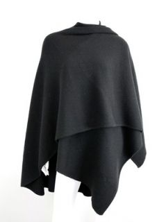 37 476 DESIGNER at SOCIALITE AUCTIONS Black Wool Sweater Cape