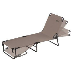 Coleman Converta Cot Chair Lounge Bed Camping Camp Footrest Nap