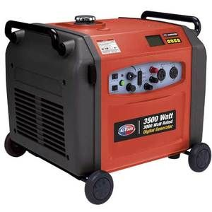 APG3105 3500 Watt Digital Portable RV Boat Camping Home Generator