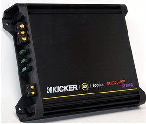 Series Mono 1000 Watt RMS Power Class D Car Audio Amplifier