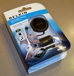 NEW Belkin AirCast Bluetooth Car Hands Free Kit