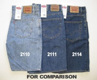New Mens Levis 550 Relaxed Fit Shorts Sizes 34 38 40 Color Choice