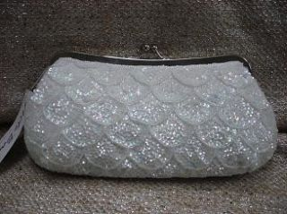Carlo Fellini Sunflower Nite Shoes and Handbag White Set