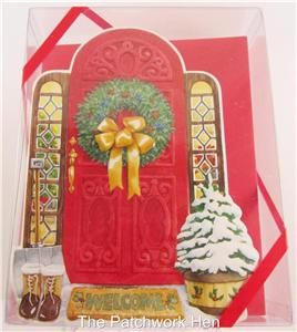 Carol Wilson 15 Ct Boxed Christmas Greeting Cards Holiday Home Bible