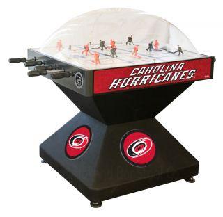 Carolina Hurricanes Dome Bubble Hockey Table Game by Holland Bar Stool