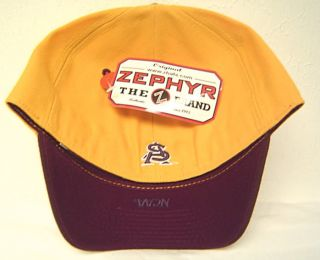 Zephyr Arizona State Sun Devils NCAA Fitted Cap ASU Hat