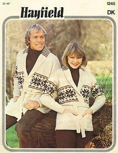 Vintage Knitting PATTERN to make Knitted Baby Toddler Sweater Smocking. NOT a...