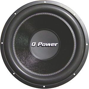 New Q Power QPF10 10 1200W Car Audio Deluxe Series Subwoofer Sub 1200