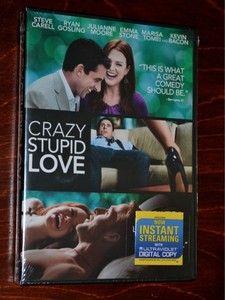 Crazy Stupid Love 2011 DVD NEW SEALED Steven Carell Ryan Gosling