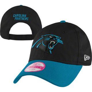 carolina panthers black women s 9forty sideline hat