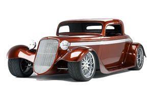 Hot Rod Antique Car Automobile Mouse Pad Coaster New