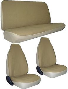 New Tan High Back Car Truck SUV Racing Seat Covers