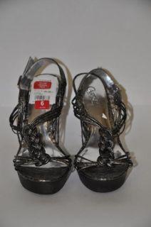 Carlos by Carlos Santana New Womens Pewter Shoes Sz 6 nib $99 Free