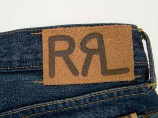RRL Ralph Lauren Selvedge Canyon Creek 2 Slim Fit Jeans 36 x 32