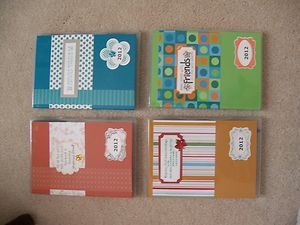 Stampin Up 2012 Birthday Christmas Calendar Card Purse Organizer