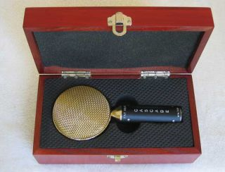 New Cascade Fat Head Gold Scoop Ribbon Mic Upgraded w Ami Transformer