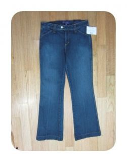 New not Your Daughters Jeans Denim Carly Wash Angie Trouser Jeans 4P $
