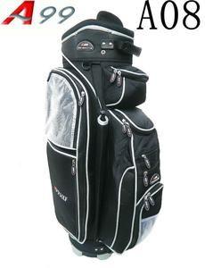 A99 Golf Bags A08 14 Ways Full Length Dividers Golf Cart Bag Black