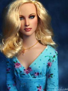 Repaint Vampire Diaries Caroline Forbes OOAK by Laurie Leigh