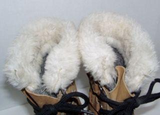 Sorel Caribou Winter Snow Boots Waterproof Womens Ladies Size 9 Good