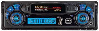 stereo plrcs20u new am fm dual band radio digital car cassette player