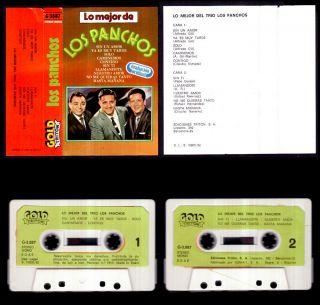 Los Panchos Lo Mejor Del Trio Spain Cassette Gold Triton 1982 Como