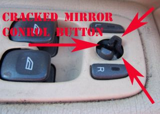 Volvo Door Mirror Conrol Switch Button Repair Kit S60 S80 XC70 XC90