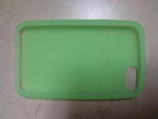 iPod Touch Silicone Case iTouch 2nd 3rd Gen Light Green