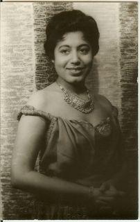 MATTIWILDA DOBBS VAN VECHTEN PHOTO AFRICAN AMERICAN OPERA SINGER