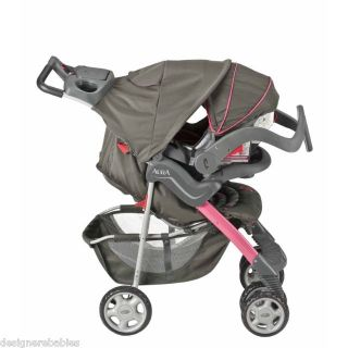 Evenflo Aura Travel Car Seat Stroller System PINK ALHAMBRA ~ 52911040